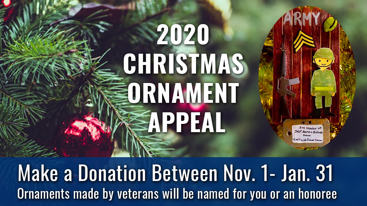 Christmas ornaments veterans
